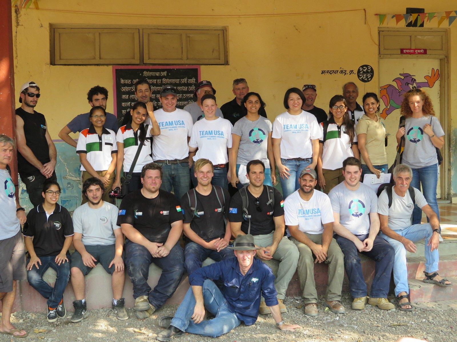 The Community Plumbing Challenge, India 2015