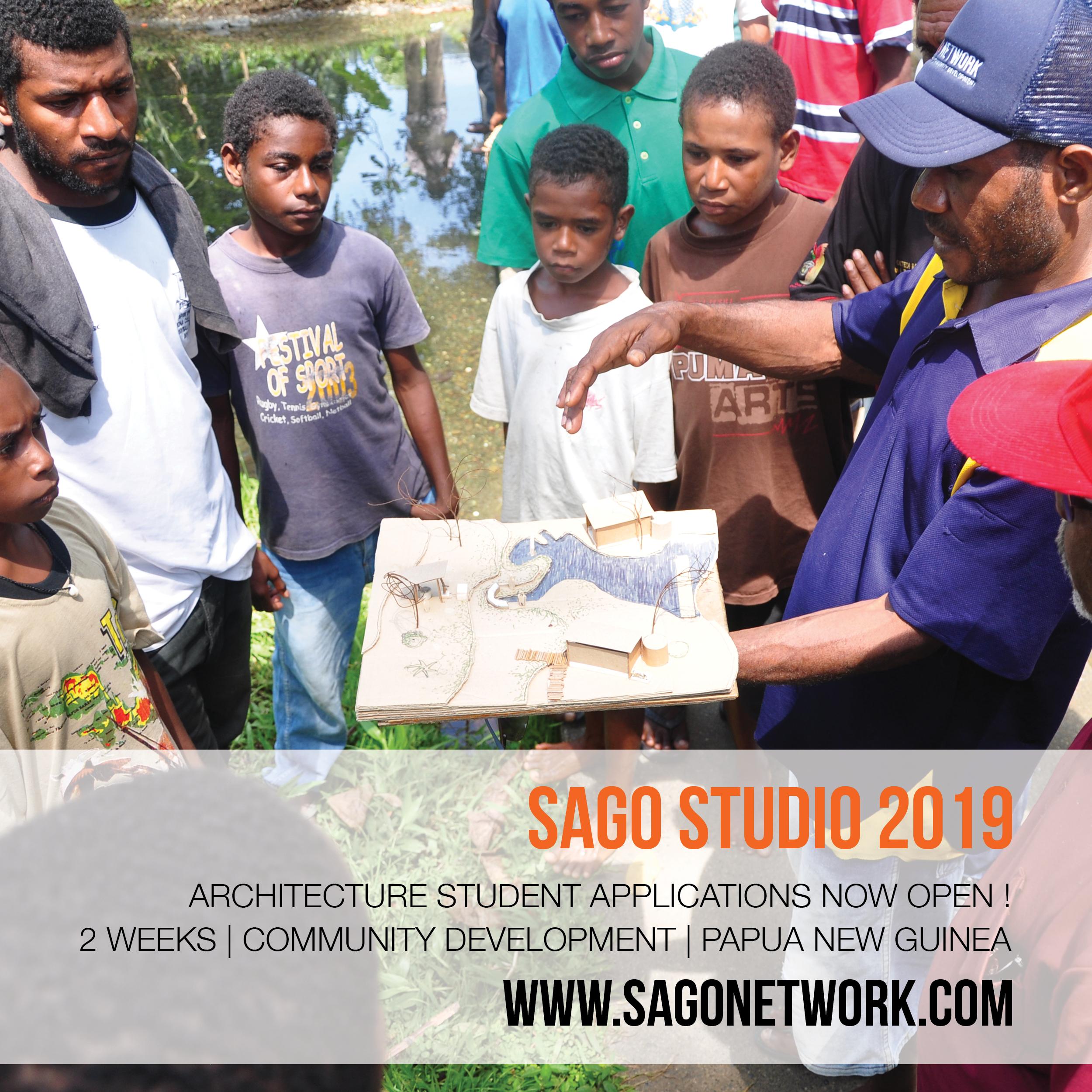 Sago Studio 2019 PNG – applications open!