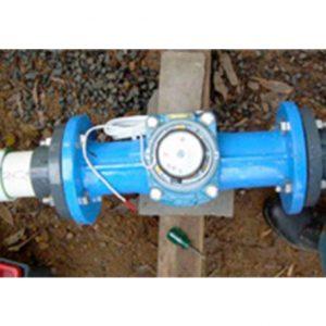Water meter in use