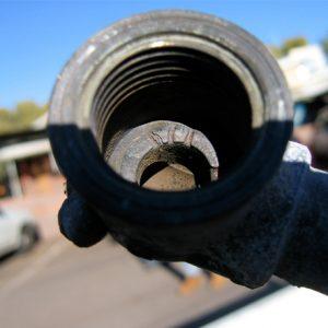 Leaking jumper valve