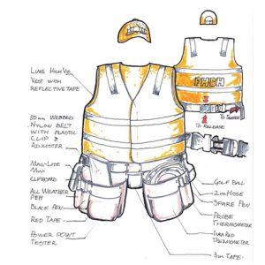 Team Leader tool belt design