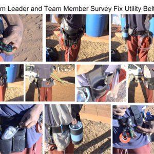 Details of team leader and team member survey fix utility belts
