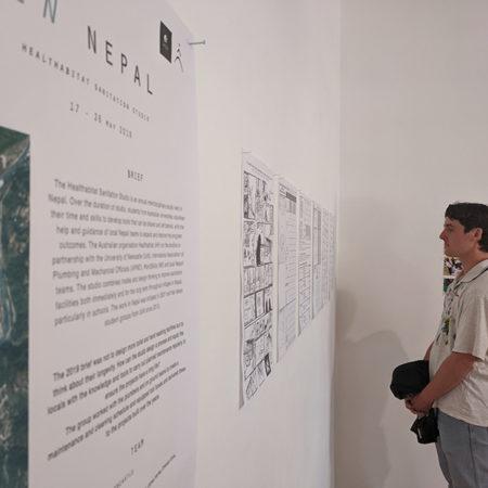 Student Exhibition of Nepal studio