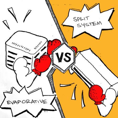 Discussion – Air-conditioners // split systems vs evaporative